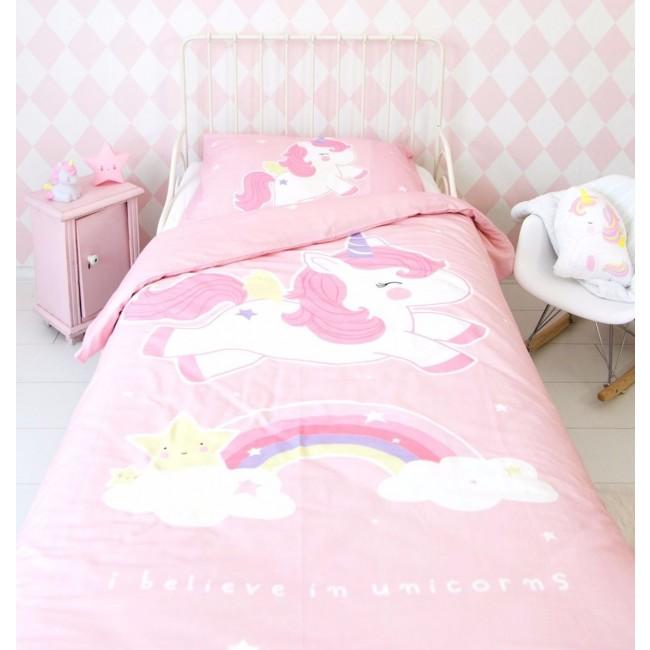 otroška posteljnina samorog